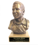 Male Doctor/Nurse Bust Statue on Walnut Base Marine Corps Statues | Gifts