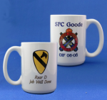15oz Mug Military Ceramic Mugs | Personalized Insignia