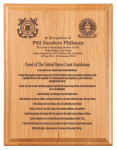 Coast Guardsman's Creed Plaque  Military Creed Plaques and Frames