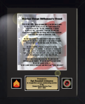 Marine Corps Rifleman's Creed 11 x 14 Military Creed Plaques and Frames