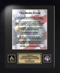 Medic Creed 11 x 14 Military Creed Plaques and Frames