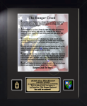 Army Ranger Creed 11 x 14  Military Creed Plaques and Frames