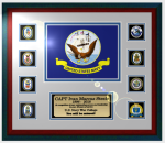 Framed Navy Flag Gift 16 x 20 Military Flags | Framed | Gifts