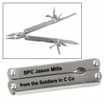 Stainless Steel 9 Function Multi-Tool Military Functional Gifts