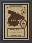 Spain Military Overseas Tour Plaques
