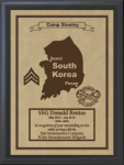 South Korea Military Overseas Tour Plaques