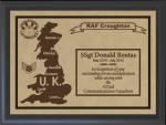 United Kingdom Military Overseas Tour Plaques