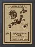 Japan Military Overseas Tour Plaques