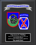 Air Force Multiple Crest Plaques Military Plaques | Colored Crest
