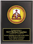 Army Crest Plaques Military Plaques | Colored Crest