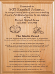 Medic Creed Plaque Military Retirement Gift Plaques