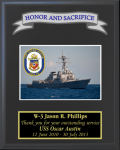 Navy Photo Crest Plaques Military Retirement Gift Plaques