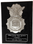 Air Force Security Relief Plaque Military Retirement Gift Plaques