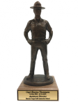 Marine Corps Drill Instuctor Statue Military Retirement Gift Statues