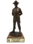 Army Drill Sergeant Statue - Male Military Retirement Gift Statues