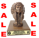 Chiefs Bust | Statue Military Retirement Gift Statues