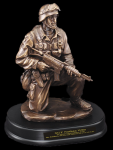 Kneeling Soldier Statue Military Statues | Military Figures
