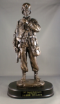 Soldier with Binoculars Statue Military Statues | Military Figures