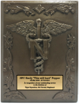 Army Nurse Corps Plaque Military Statues | Military Figures