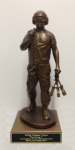 Port Dawg Statue on Walnut Base Military Statues | Military Figures