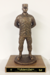Parade Rest Statue with Cap Military Statues | Military Figures