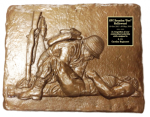Male Combat Medic Plaque Military Statues | Military Figures
