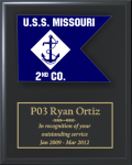 Navy Guidon Plaque - Copy Navy Guidon Plaques