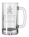 25 oz. Glass Mug Personalized Groomsman Gifts