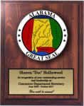 Alabama State Seal  State Seal Plaques