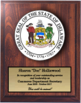 Delaware State Seal State Seal Plaques