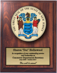 New Jersey State Seal  State Seal Plaques