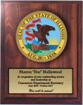 Illinois State Seal State Seal Plaques