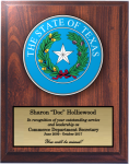 Texas State Seal State Seal Plaques