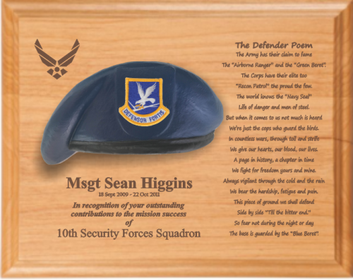 Air Force Security Forces Specific Gifts