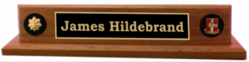Deluxe Military Desk Name Plate Army Plates