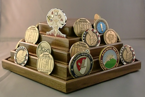 Army Gift Challenge Coin Displays