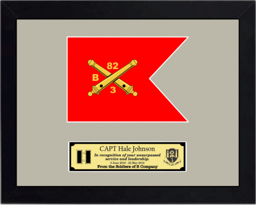 Army Guidon Plaques