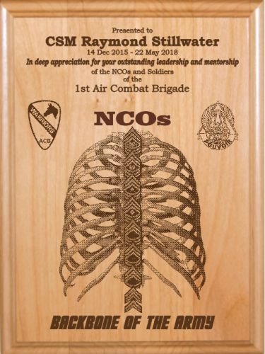 Army Nco Retirement Gifts