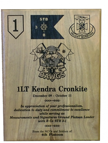 Army Plaques |Classic | Recognition