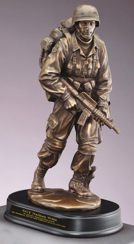 army soldier statue figurine. Black Bedroom Furniture Sets. Home Design Ideas