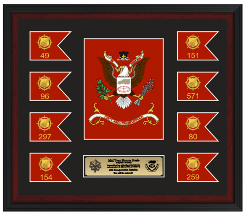 Framed Army Gifts Awards