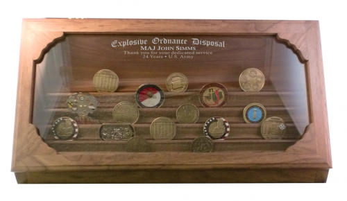 Challenge Coin Display - 50 Coin Step in Glass Marine Corps Gifts | USMC Awards  sc 1 st  Awards Gallery & Challenge Coin Display - 50 Coin Step in Glass Marine Corps Gifts ...